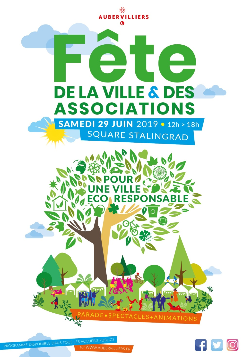 20190523 Affiche Fête de la ville et des associations 2019